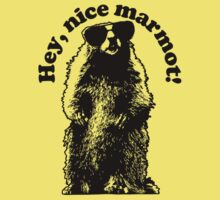 Hey, Nice Marmot! Kids Clothes