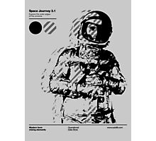 Space Journey 3.1 (black Photographic Print