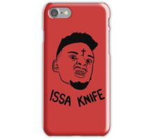 21 Savage Issa Knife iPhone Case/Skin