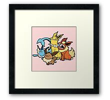 Number 133, 134, 135 and 136 Framed Print