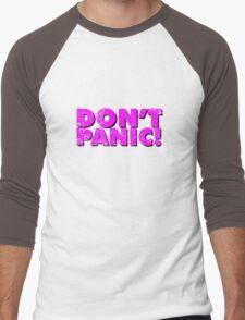 Don't Panic! Men's Baseball ¾ T-Shirt