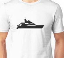 Motorboat yacht Unisex T-Shirt