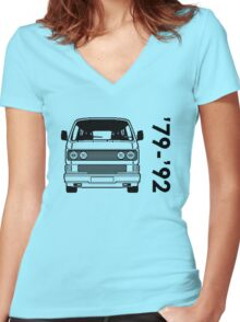 Type 2 T3 Women's Fitted V-Neck T-Shirt