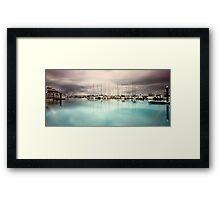 Safe Harbour Framed Print
