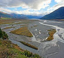 Waimakarii River by Harry Oldmeadow