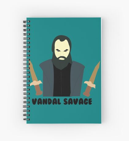 Vandal Savage Spiral Notebook