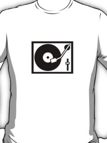 DJ Turntable T-Shirt