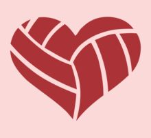 Volleyball heart Kids Clothes