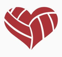 Volleyball heart by Designzz