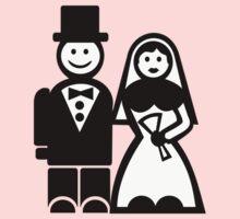 Wedding couple One Piece - Short Sleeve