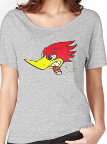 wild woodpecker horizontal Women's Relaxed Fit T-Shirt