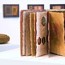 Art Installation inc. 'Book of Threads', Umbrella Studio Gallery  by Kerryn Madsen-Pietsch