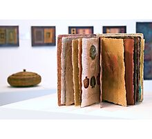 Art Installation inc. 'Book of Threads', Umbrella Studio Gallery  Photographic Print