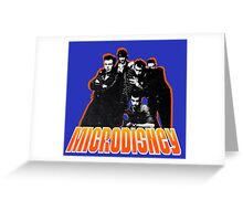 MICRODISNEY Greeting Card