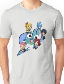 Fairy Tail Chibi Big Logo, Anime Unisex T-Shirt