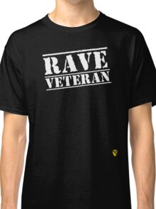 Rave Veteran - White Classic T-Shirt