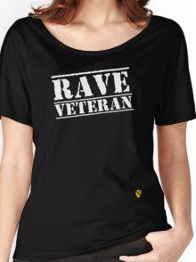 Rave Veteran - White Women's Relaxed Fit T-Shirt