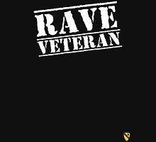 Rave Veteran - White Unisex T-Shirt
