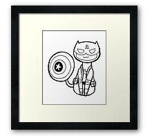 Captain Americat Framed Print