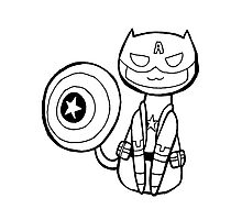 Captain Americat Photographic Print