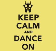 Keep calm and dance on ballet One Piece - Short Sleeve