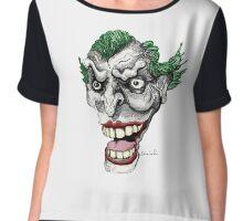 Crazy Clown Chiffon Top