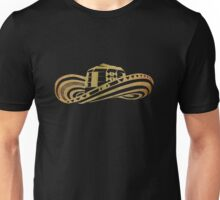 Colombian Sombrero Vueltiao in Gold Leaf Unisex T-Shirt