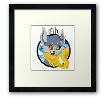 "Felix - ""Optimism"" Framed Print"