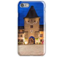 France Tower Gate by Night iPhone Case/Skin