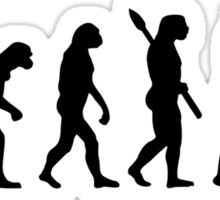 Evolution Princess Bride Sticker
