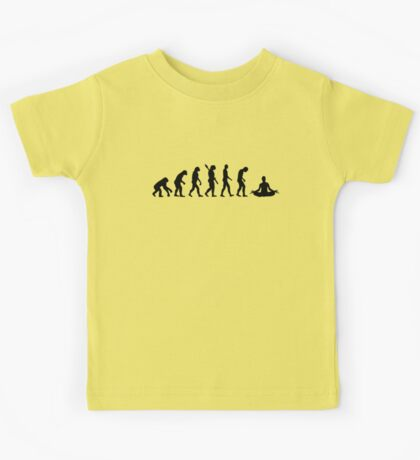 Yoga evolution Kids Tee