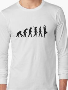 Evolution Yoga Long Sleeve T-Shirt