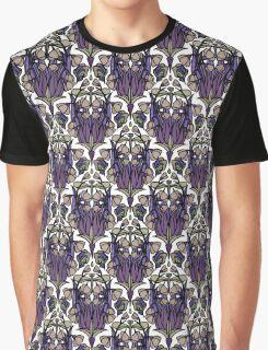 Dragonfly Nouveau- Mauve Graphic T-Shirt