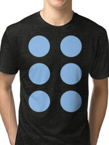 Thor Circle Armour Blue Tri-blend T-Shirt
