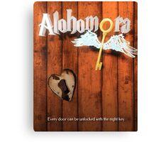 Alohamora Key Canvas Print