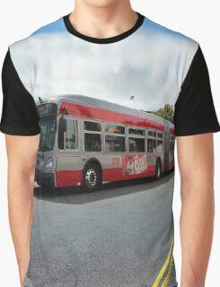 60-foot biodiesel-electric hybrid bus San Francisco Graphic T-Shirt