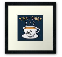 Tea Shirt Framed Print