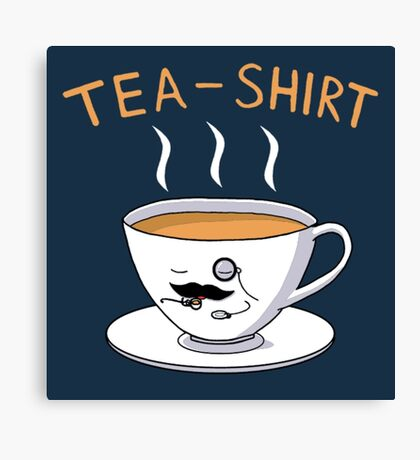 Tea Shirt Canvas Print