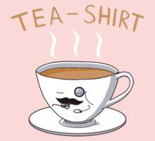 Tea Shirt One Piece - Long Sleeve