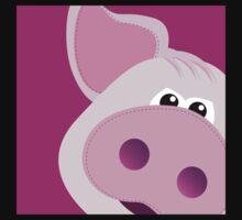 Happy Piggy - Graphic Tee Kids Clothes