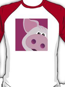 Happy Piggy - Graphic Tee T-Shirt