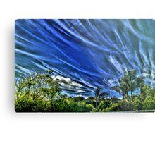 Cloudy Maui Day Metal Print
