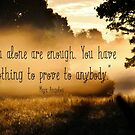 You Alone Are Enough by Kathleen Daley