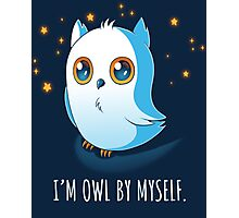 Owl by Myself Photographic Print