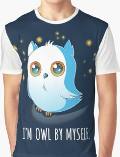 Owl by Myself Graphic T-Shirt