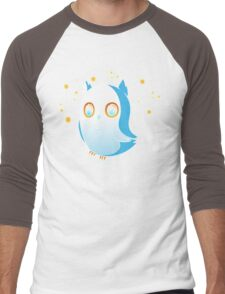 Owl by Myself Men's Baseball ¾ T-Shirt