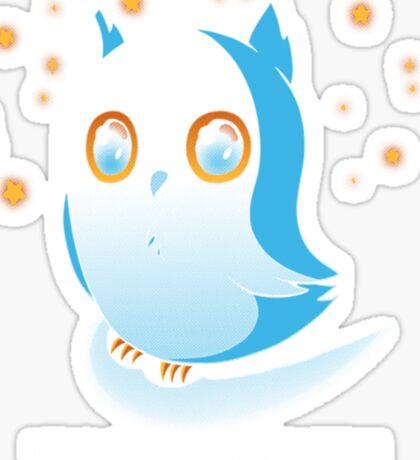 Owl by Myself Sticker