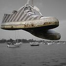 Giant shoes in the sky! by Vicki Spindler (VHS Photography)