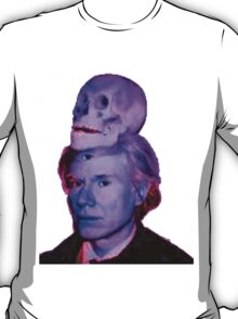 Mortality of Andy Warhol T-Shirt