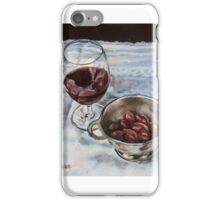 Red Wine and Olives iPhone Case/Skin